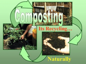 Composing waste