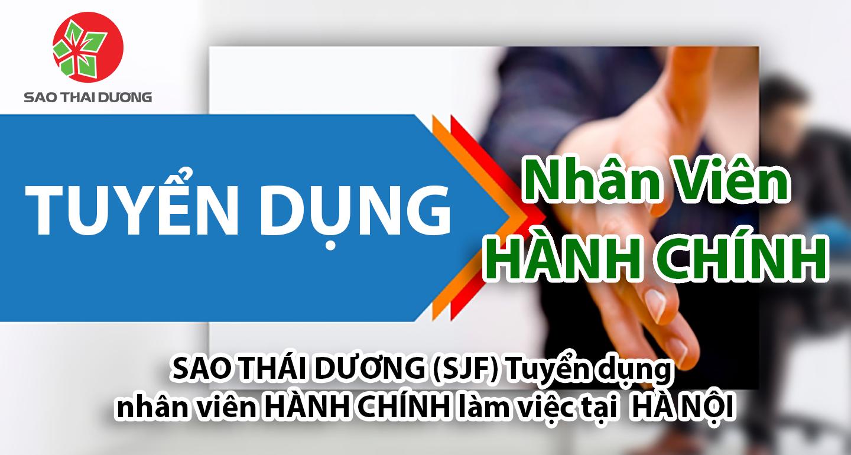 Tuyển Dung Nhân Sự Phòng Hành Chính Làm Việc Tại Hà Nội