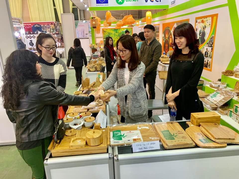 Ra mắt dòng sản phẩm đồ gia dụng TRE cao cấp SUNSTAR tại Hội Chợ Xuân Giảng Võ 2019